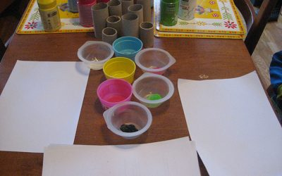 Atelier pour enfants : j'fais des ronds, des p'tits ronds…