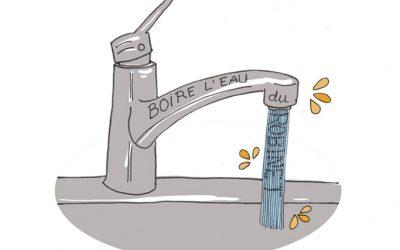101 gestes écolos (16) Boire l'eau du robinet