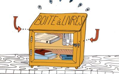 101 gestes écolos (23) Utiliser la boîte à livres