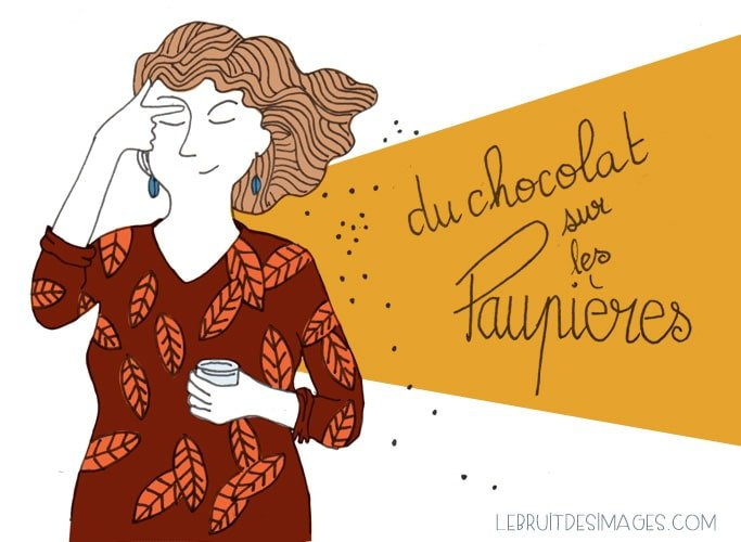 101 gestes écolos (38) : Du chocolat en maquillage