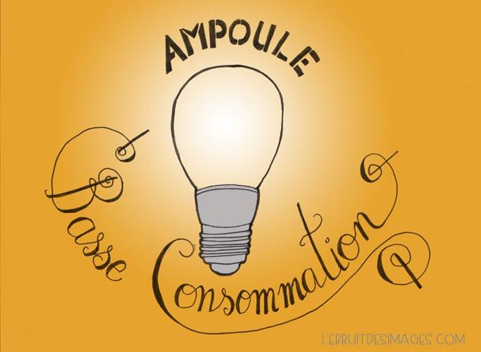 geste u00e9colo : les ampoules basse consommation
