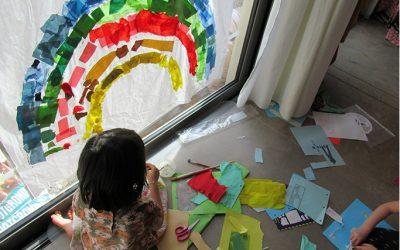 Atelier pour enfants : arc en ciel