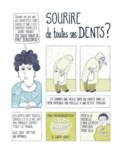 Marina Le Floch illustration Il était une voix pour Cultures et Santé