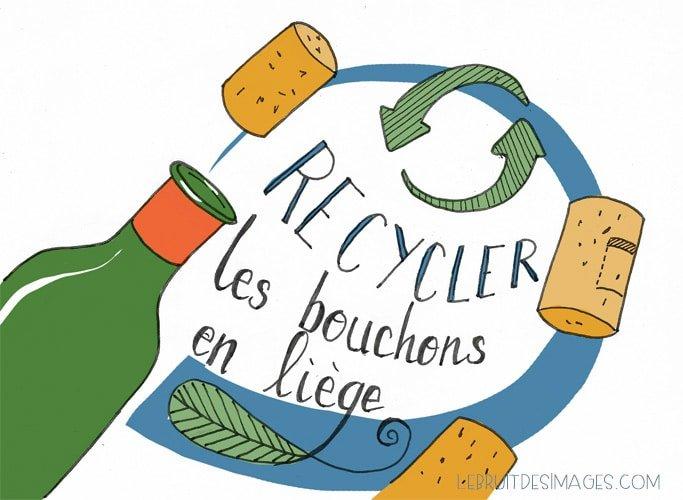 Recycler les bouchons en liu00e8ge