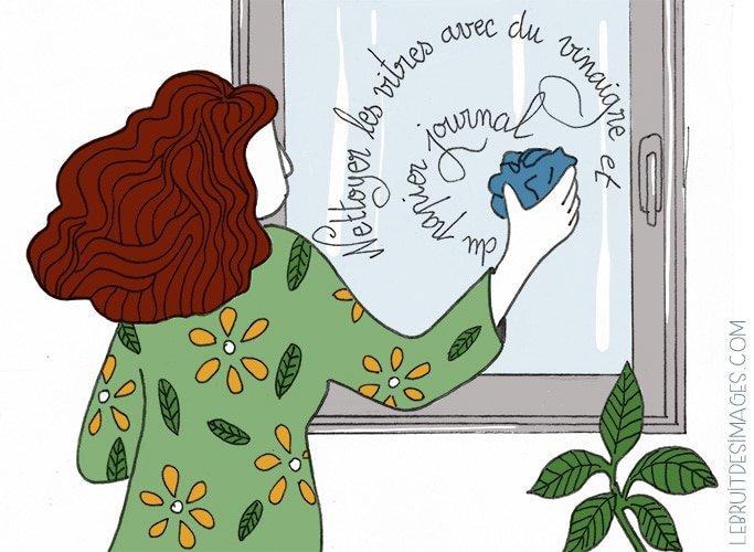 101 gestes écolos (61) : laver les vitres avec du vinaigre
