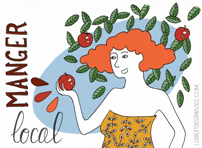 101 gestes écolos (63) : manger local