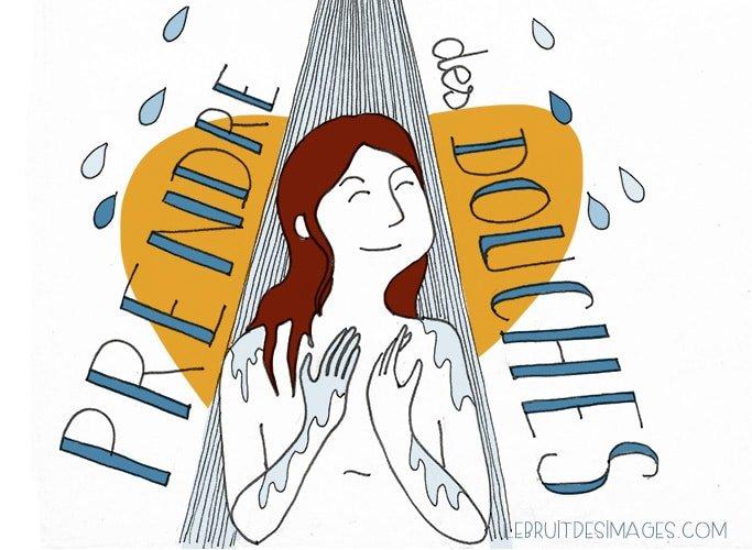 101 gestes écolos (64) : Prendre des douches