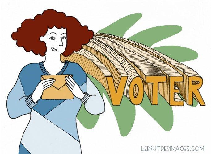 Geste u00e9colo : voter