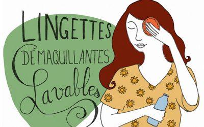 101 gestes écolos (74) : les lingettes démaquillantes lavables