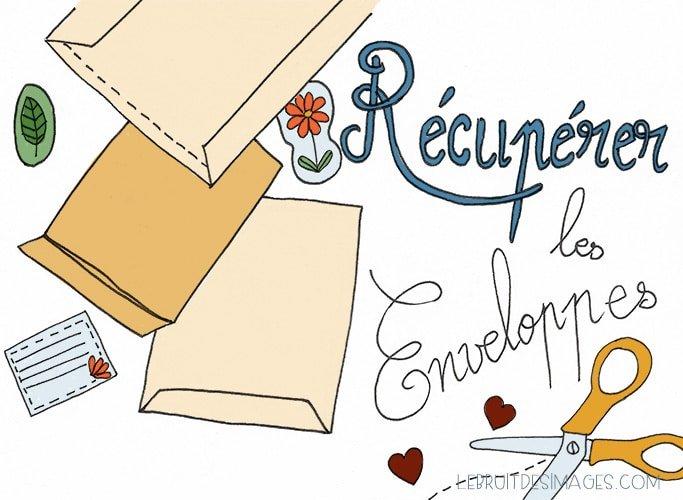 101 gestes écolos (77) : Récupérer les enveloppes