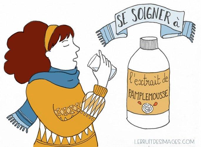 101 gestes écolos (80) : Se soigner à l'extrait de pépin de pamplemousse