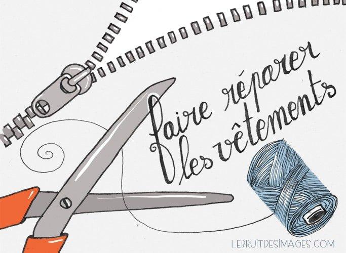 101 gestes écolos (1) Faire réparer ses vêtements