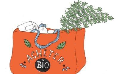 101 gestes écolos (4) acheter de la nourriture bio