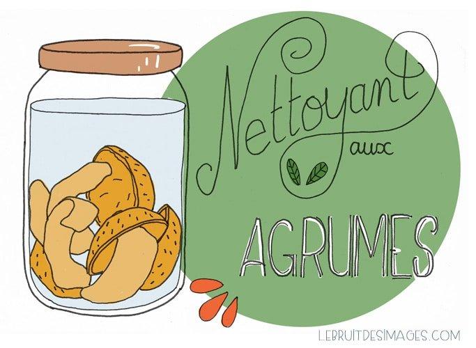 geste u00e9colo : nettoyant aux agrumes