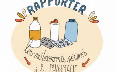 101 gestes écolos (99) : ramener ses médicaments à la pharmacie