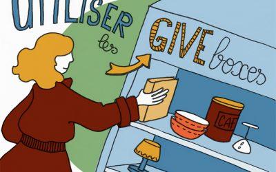 Geste écolo 103 : utiliser les give boxes