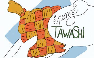 Geste écolo 104 :  éponge tawashi