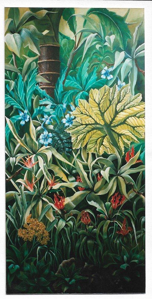 Marina Le Floch peinture déco jungle