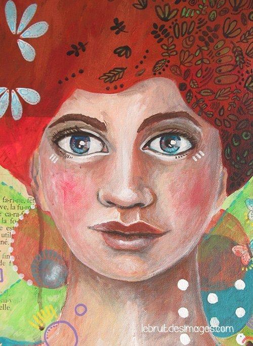 Marina Le Floch Peinture : la fête est finie Fifi!