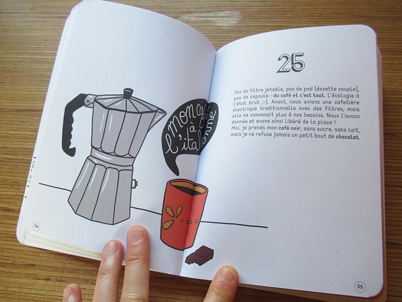 Marina Le Floch illustration pour 100 gestes écolos