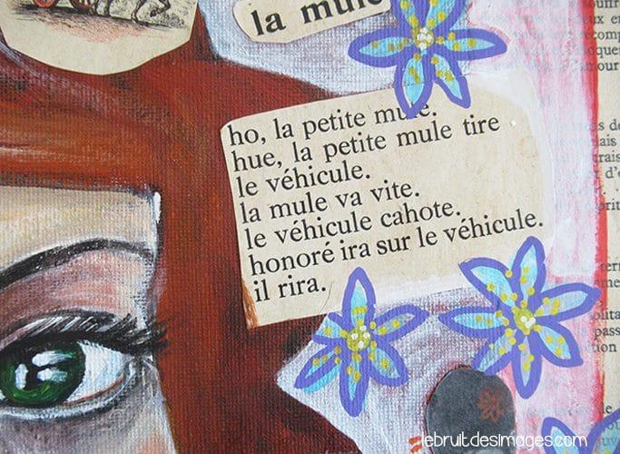 La mule, Peinture, Marina Le Floch