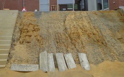 Verduriser un talus… de terre sableuse