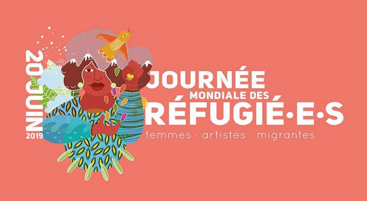 Illustration pour la Journée mondiale des réfugié.e.s