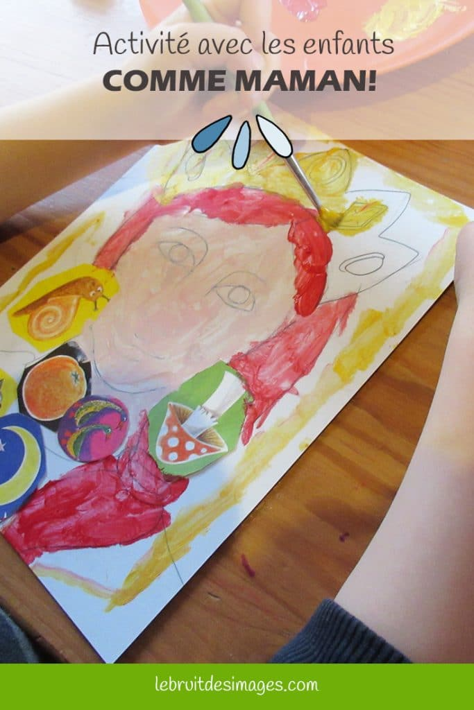 Marina Le Floch, atelier créatif pour les enfants -  Peindre comme maman!