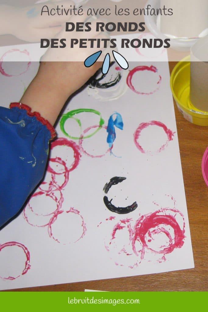 Marina Le Floch, atelier créatif pour les enfants - Des petits ronds