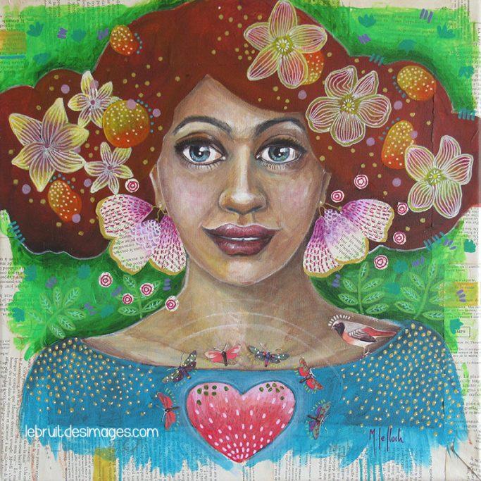 Peinture - Marina Le Floch -Melvenn