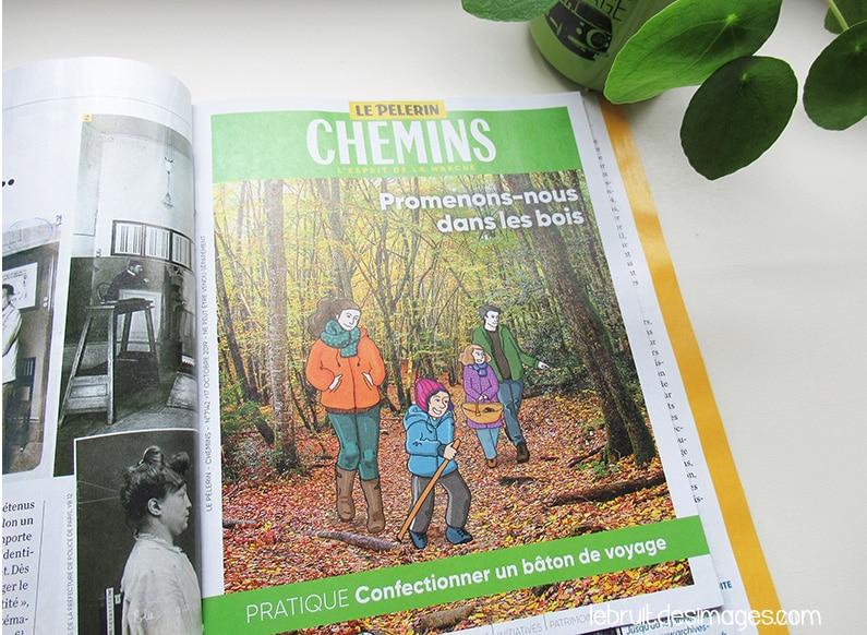 """Illustrations """"promenons-nous dans les bois"""""""