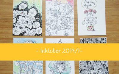 Inktober 2019 – partie 1