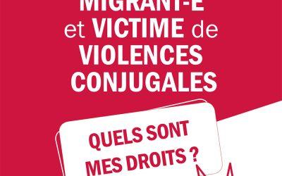 Brochure info violences conjugales