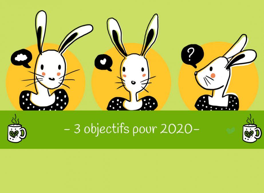 3 objectifs pour 2020