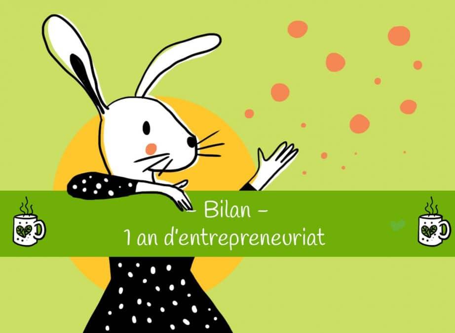 Bilan d'un an d'entrepreneuriat