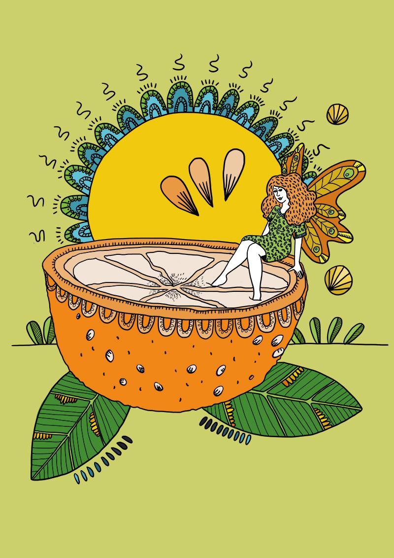 Marina Le Floch illustration Coloriage