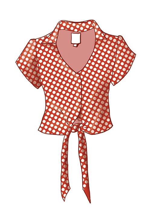 Marina Le Floch illustration Des habits et nous pour Cultures et Santé
