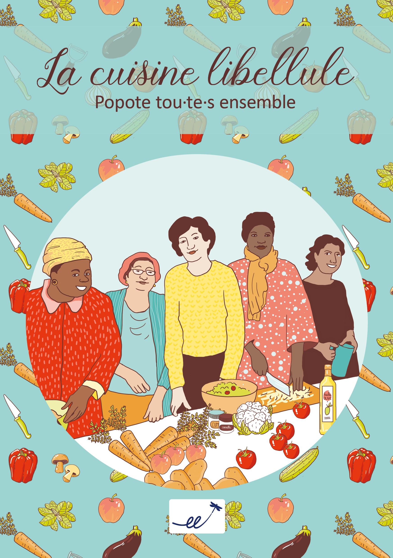 Marina Le Floch illustration pour la commune d'Etterbeek