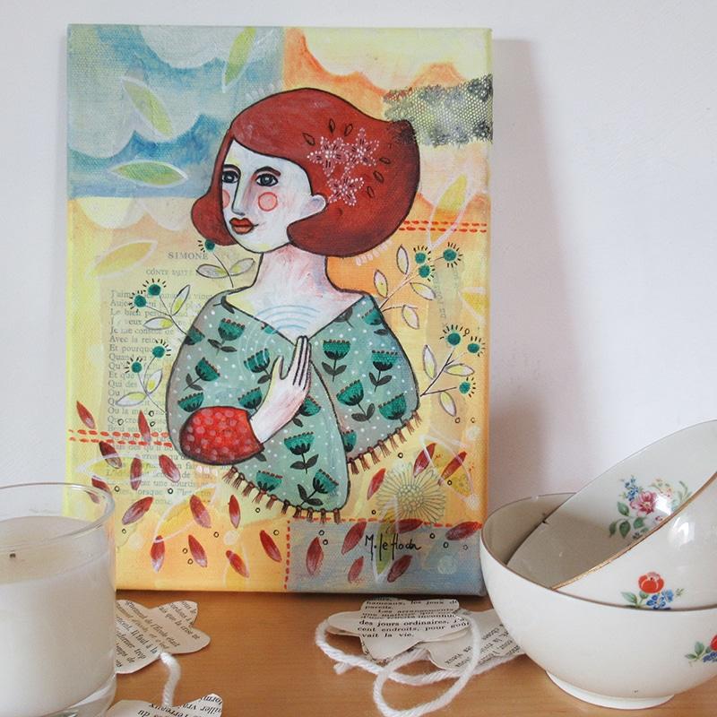 Marina Le Floch peinture