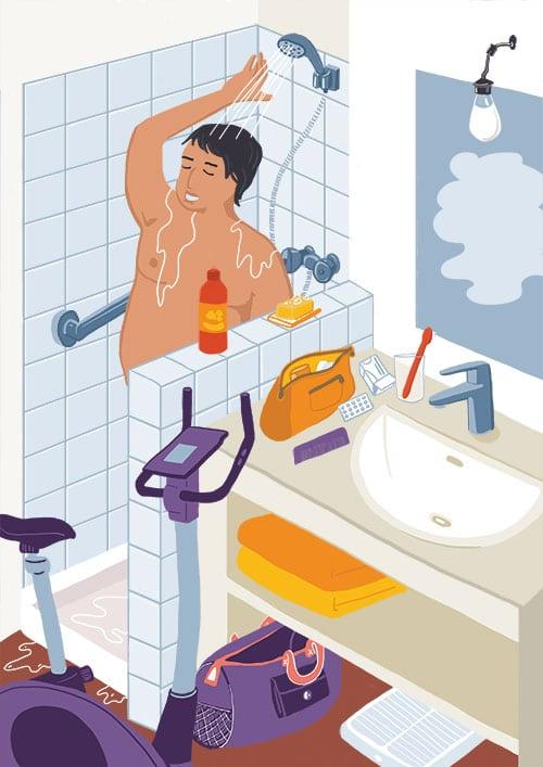 Marina Le Floch illustration pour Babbel boost