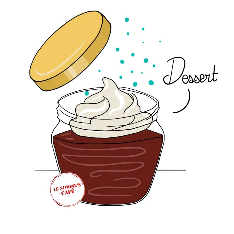 Illustration pour le Simone's Café