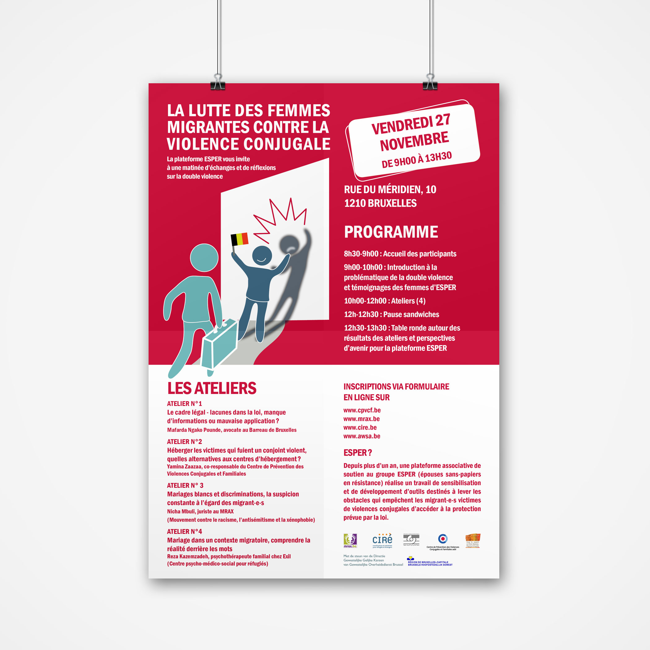 Brochure informative sur les violences conjugales