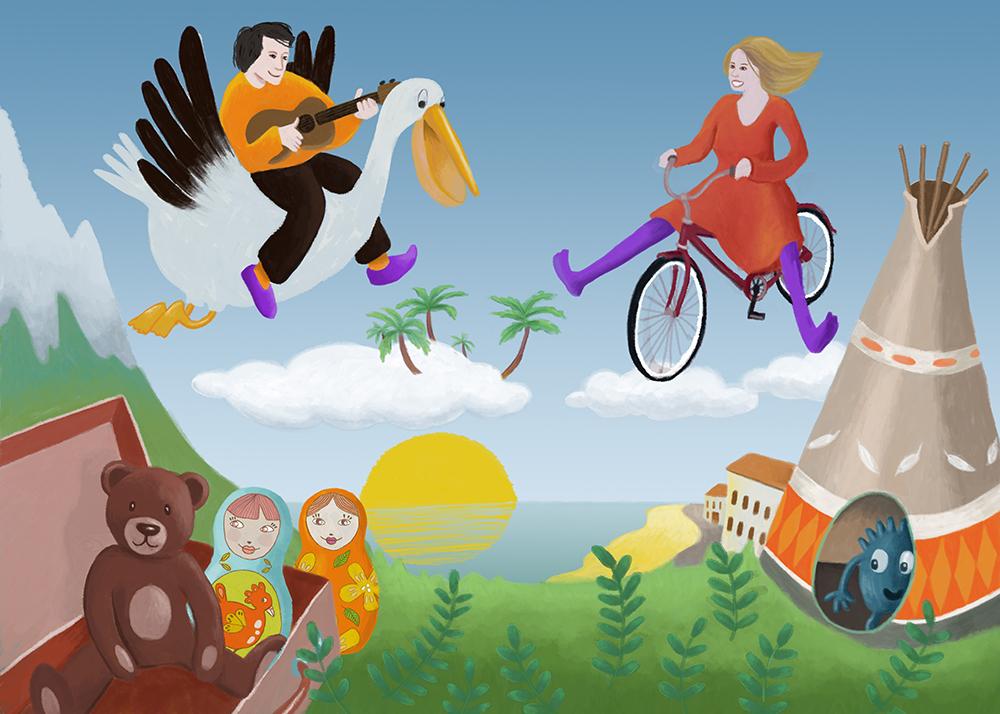 décor musique pour enfants