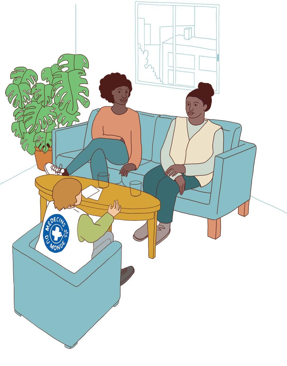 Illustration pour Médecins du monde