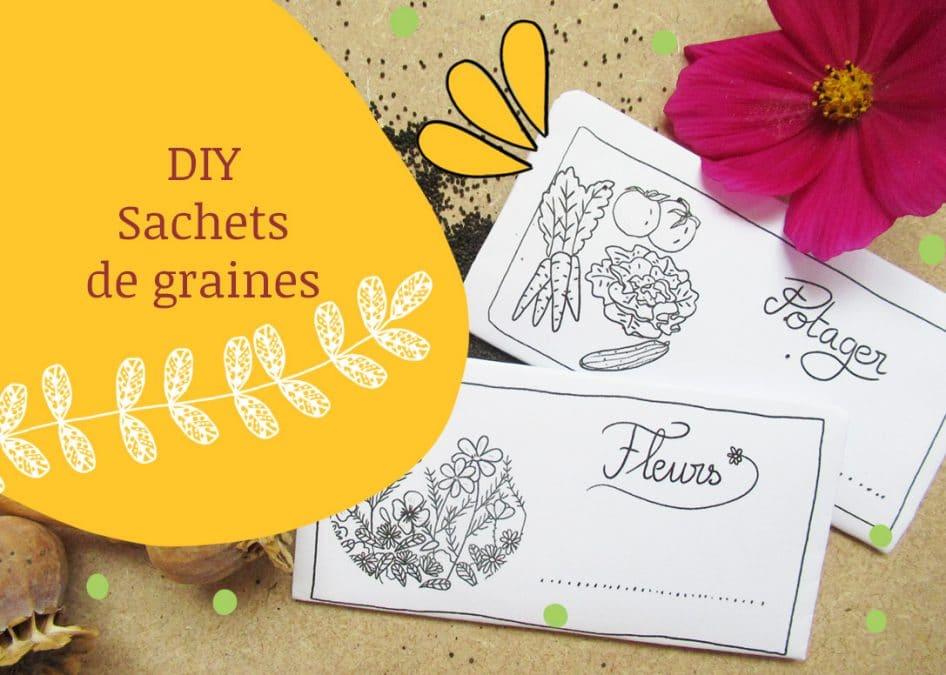 DIY sachets de graines