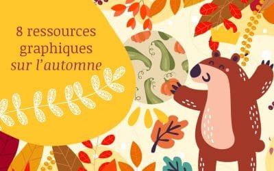 8 Ressources graphiques sur l'automne