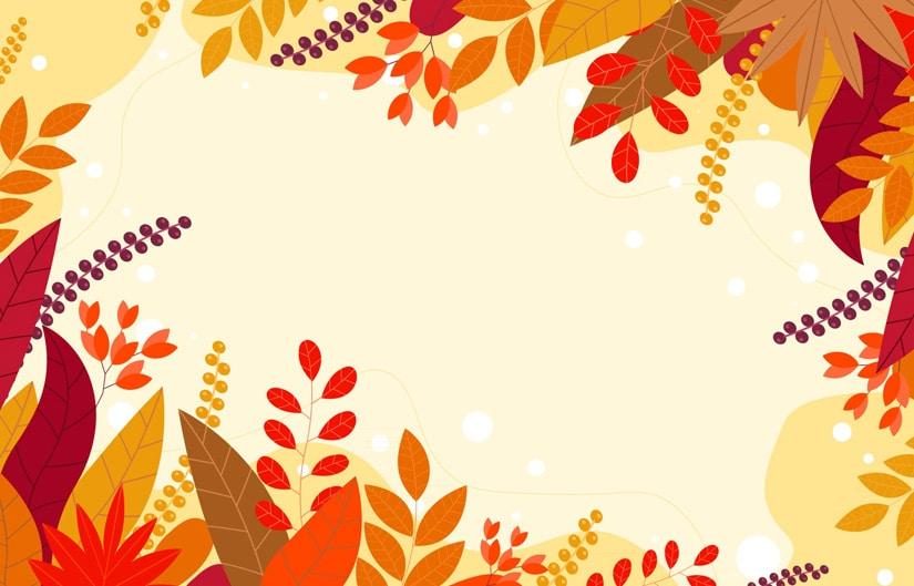 ressource graphique sur l'automne